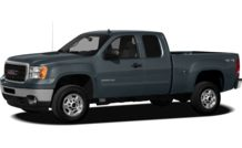 Colors, options and prices for the 2012 GMC Sierra 2500HD