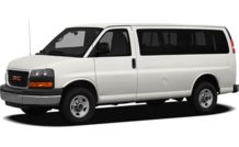 Colors, options and prices for the 2012 GMC Savana 1500