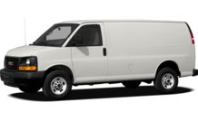 Colors, options and prices for the 2012 GMC Savana 3500