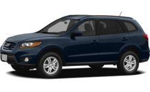 Colors, options and prices for the 2012 Hyundai Santa Fe