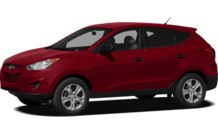 Colors, options and prices for the 2012 Hyundai Tucson