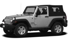 Colors, options and prices for the 2012 Jeep Wrangler