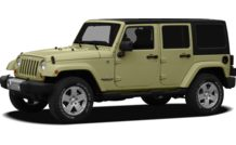 Colors, options and prices for the 2012 Jeep Wrangler Unlimited