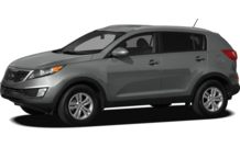 Colors, options and prices for the 2012 Kia Sportage