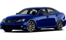 Colors, options and prices for the 2012 Lexus IS-F