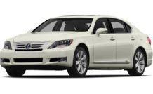 Colors, options and prices for the 2012 Lexus LS 600h