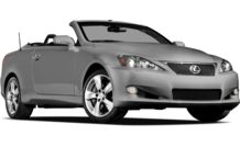 Colors, options and prices for the 2012 Lexus IS 350C
