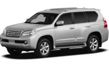 Colors, options and prices for the 2012 Lexus GX 460