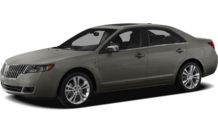 Colors, options and prices for the 2012 Lincoln MKZ