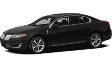 Colors, options and prices for the 2012 Lincoln MKS