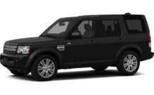Colors, options and prices for the 2012 Land Rover LR4