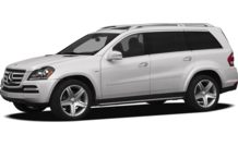 Colors, options and prices for the 2012 Mercedes-Benz GL-Class