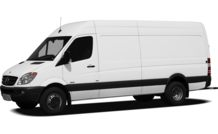 Colors, options and prices for the 2012 Mercedes-Benz Sprinter
