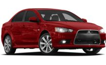 Colors, options and prices for the 2012 Mitsubishi Lancer
