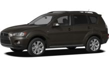 Colors, options and prices for the 2012 Mitsubishi Outlander