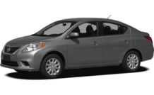 Colors, options and prices for the 2012 Nissan Versa