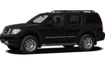 Colors, options and prices for the 2012 Nissan Pathfinder
