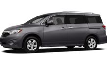 Colors, options and prices for the 2012 Nissan Quest