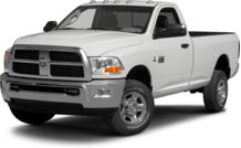 Colors, options and prices for the 2012 RAM 2500