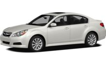 Colors, options and prices for the 2012 Subaru Legacy