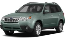 Colors, options and prices for the 2012 Subaru Forester