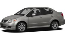 Colors, options and prices for the 2012 Suzuki SX4