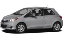 Colors, options and prices for the 2012 Toyota Yaris