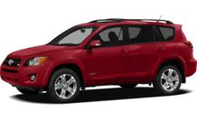 Colors, options and prices for the 2012 Toyota RAV4