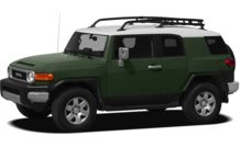 Colors, options and prices for the 2012 Toyota FJ Cruiser