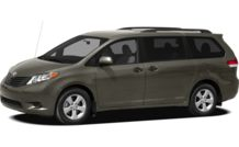Colors, options and prices for the 2012 Toyota Sienna