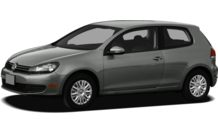 Colors, options and prices for the 2012 Volkswagen Golf