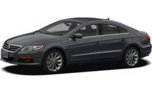 Colors, options and prices for the 2012 Volkswagen CC