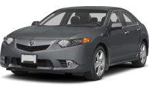 Colors, options and prices for the 2013 Acura TSX