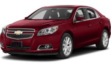 Colors, options and prices for the 2013 Chevrolet Malibu