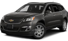 Colors, options and prices for the 2015 Chevrolet Traverse