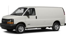 Colors, options and prices for the 2013 Chevrolet Express 3500