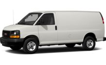 Colors, options and prices for the 2013 GMC Savana 3500