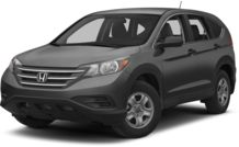 Colors, options and prices for the 2013 Honda CR-V