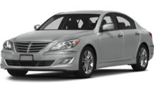 Colors, options and prices for the 2013 Hyundai Genesis