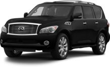 Colors, options and prices for the 2013 Infiniti QX56