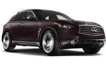 Colors, options and prices for the 2013 Infiniti FX50
