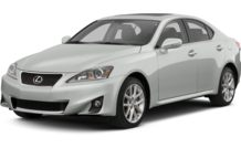 Colors, options and prices for the 2013 Lexus IS 250