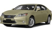Colors, options and prices for the 2014 Lexus ES 300h