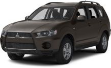 Colors, options and prices for the 2013 Mitsubishi Outlander