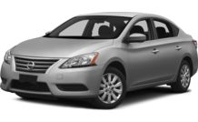 Colors, options and prices for the 2014 Nissan Sentra