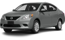 Colors, options and prices for the 2013 Nissan Versa