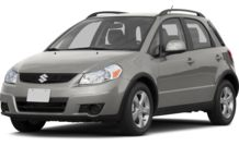 Colors, options and prices for the 2013 Suzuki SX4