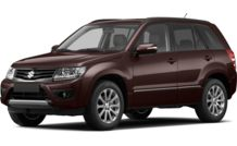 Colors, options and prices for the 2013 Suzuki Grand Vitara