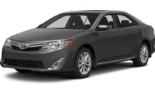 Colors, options and prices for the 2013 Toyota Camry