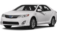 Colors, options and prices for the 2013 Toyota Camry Hybrid